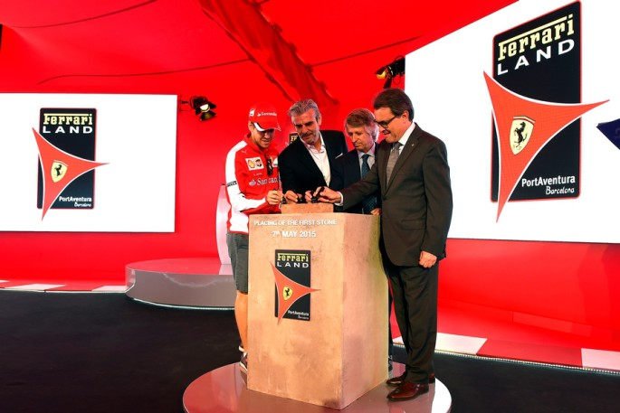 a-symbolic-first-brick-from-the-home-of-Enzo-Ferrari-was-laid-at-the-site-of-FerrariLand