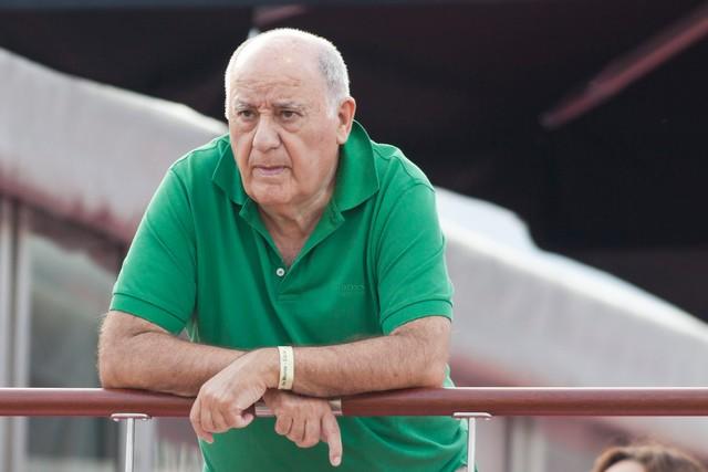 Ông Armancio Ortega, nhà sáng lập Zara và tập đoàn thời trang quốc tế Inditex