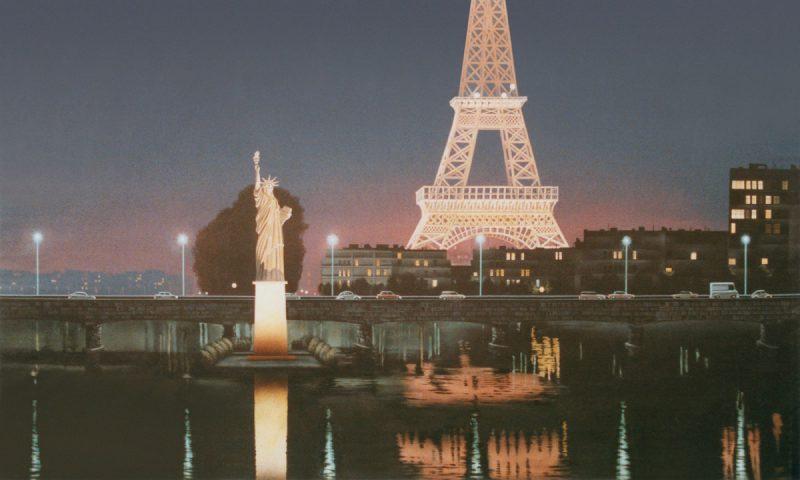 Tượng nữ thần tự do tại Paris